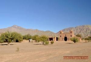 Ruta del Adobe. Iglesia de Andacollo